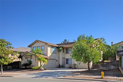 Corona Single Family Home For Sale: 1554 Lupine Circle