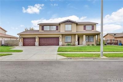 Rancho Cucamonga Single Family Home For Sale: 14163 San Antonio Drive
