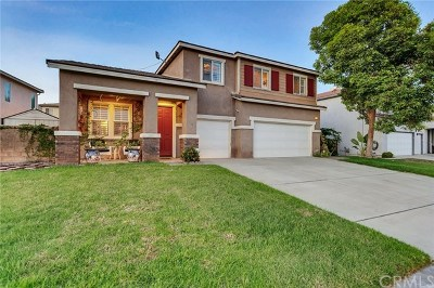 Eastvale Single Family Home Active Under Contract: 13696 Hollowbrook Way