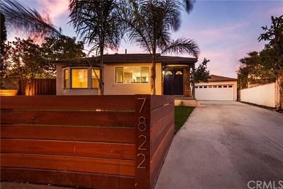 Van Nuys Single Family Home For Sale: 7822 Peach Avenue