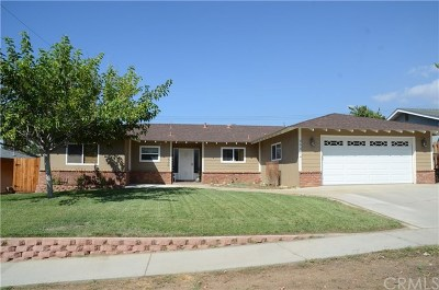 Yucaipa Single Family Home For Sale: 35574 Persimmon Street