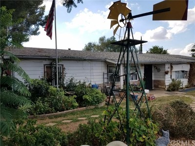 Yucaipa Single Family Home For Sale: 12854 Country Place