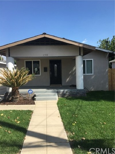 Upland Single Family Home For Sale: 428 N 6th Avenue