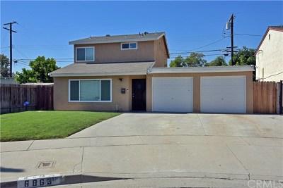 Long Beach Single Family Home For Sale: 6863 Coachella Avenue