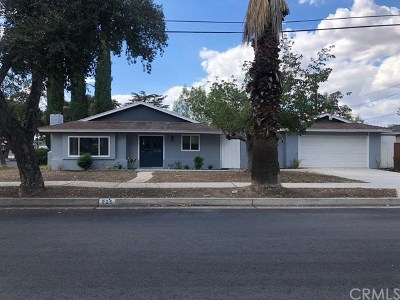 Redlands Single Family Home For Sale: 925 N Lincoln Street