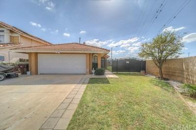 Moreno Valley Single Family Home For Sale: 24005 Delphinium Avenue