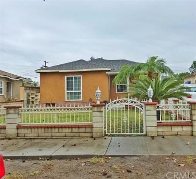Fullerton Single Family Home For Sale: 137 W Knepp Avenue