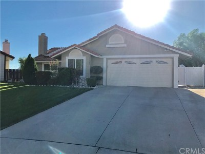 Wildomar Single Family Home For Sale: 35369 Chiwi Circle