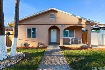 Colton Single Family Home For Sale: 445 W E Street