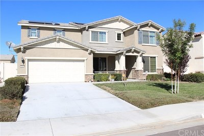 Perris Single Family Home For Sale: 1086 Viscano Court