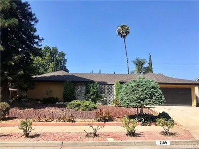 Placentia Single Family Home For Sale: 2109 Rosemont Street