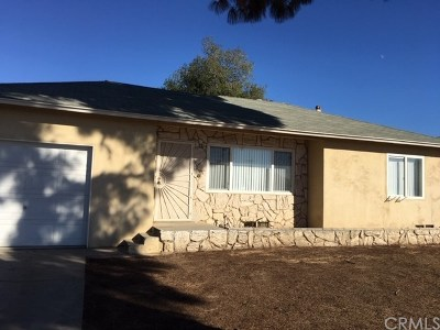 Loma Linda Single Family Home For Sale: 10395 Spade Drive