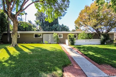 Riverside Single Family Home For Sale: 2280 Elsinore Road