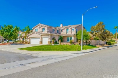 Corona CA Single Family Home For Sale: $589,900