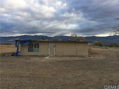 Lucerne Valley Single Family Home For Sale: 33459 Rabbit Springs Road