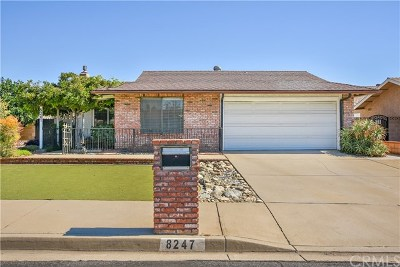 Rancho Cucamonga Single Family Home Active Under Contract: 8247 Layton Street