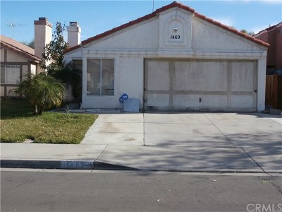 Perris Single Family Home For Sale: 1469 Olivecrest Way