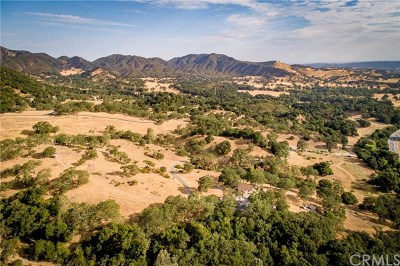 San Luis Obispo County Single Family Home For Sale: 7070 Tassajara Creek Rd