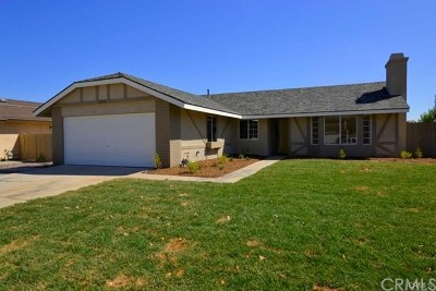 Lake Elsinore Single Family Home For Sale: 19018 Tule Way