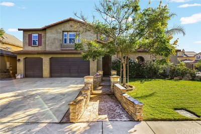 Eastvale Single Family Home For Sale: 7246 Canopy Lane