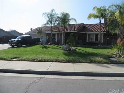 Moreno Valley Single Family Home For Sale: 12379 Via De Palmas Drive