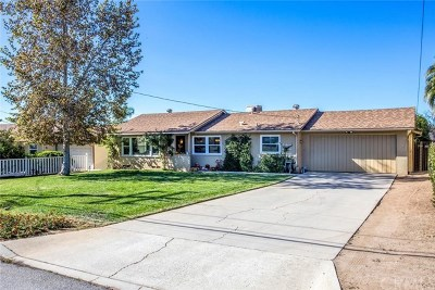 Yucaipa CA Single Family Home For Sale: $359,000
