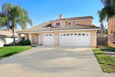 Corona Single Family Home For Sale: 27102 Adelanto Drive