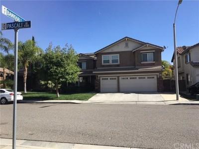 Lake Elsinore Single Family Home For Sale: 41118 Pascali Lane