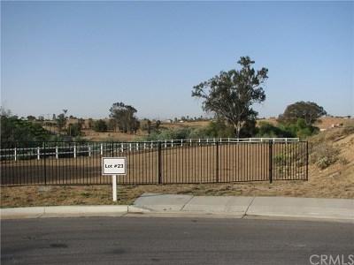 Riverside Residential Lots & Land For Sale: 14427 Merlot Court