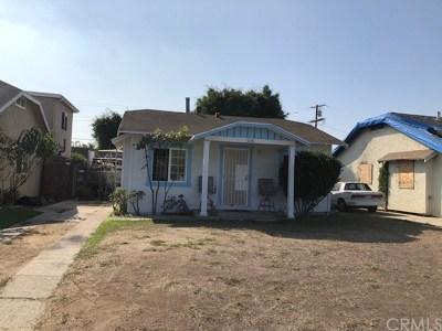 Inglewood Single Family Home For Sale: 928 E Fairview Boulevard