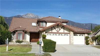 Rancho Cucamonga Single Family Home For Sale: 9836 Hibiscus Court