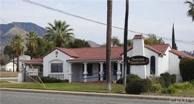 Highland Commercial For Sale: 7231 Palm Avenue