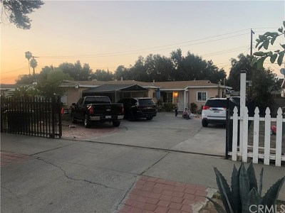 Riverside, Temecula Single Family Home For Sale: 7727 Orchard Street