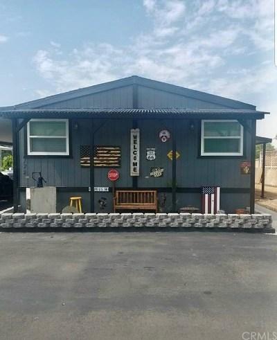 Riverside Mobile Home For Sale: 15181 Van Buren Boulevard