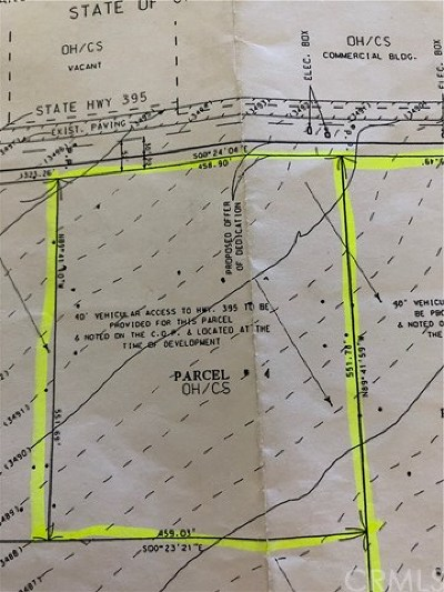Hesperia Residential Lots & Land Active Under Contract: 395 395