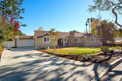 Fullerton Single Family Home For Sale: 1718 Sunny
