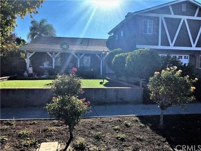 Corona Single Family Home For Sale: 1165 Hillcrest Street