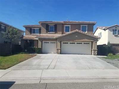Lake Elsinore Single Family Home For Sale: 53005 Alba Street