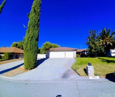 Banning CA Single Family Home For Sale: $450,000