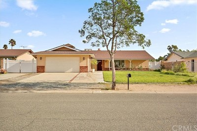 Norco Single Family Home For Sale: 2645 Sunny Hills Drive