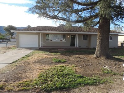 Banning CA Single Family Home For Sale: $275,000