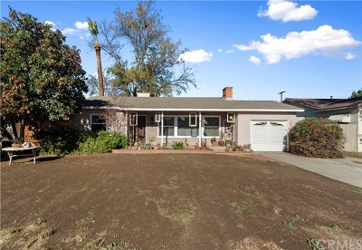 Riverside Single Family Home For Sale: 4743 Cover Street