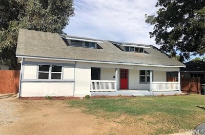 Riverside Single Family Home For Sale: 8625 California Avenue