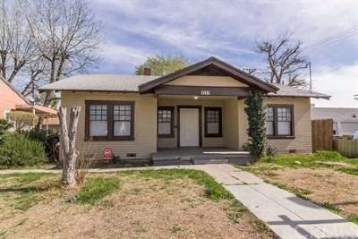 San Bernardino Single Family Home For Sale: 1231 N F Street