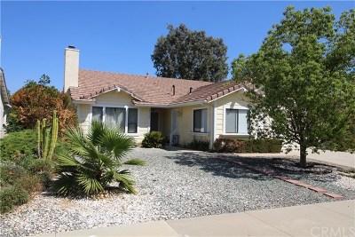 Menifee CA Single Family Home For Sale: $329,000