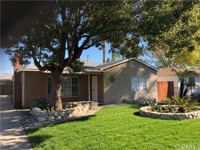 Chino Single Family Home For Sale: 12985 Wright Avenue