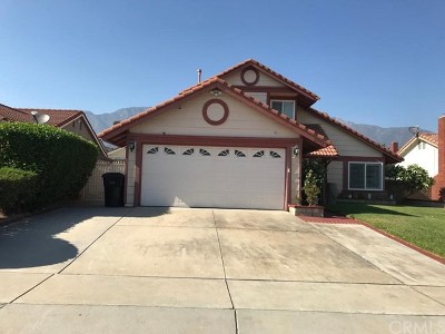 Alta Loma CA Single Family Home For Sale: $610,000