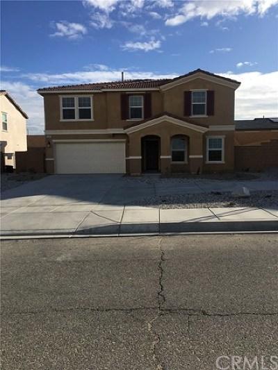 Victorville Single Family Home For Sale: 16087 Cordova Road
