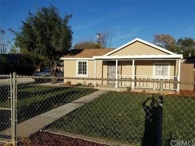Corona Single Family Home For Sale: 3709 Blair Street