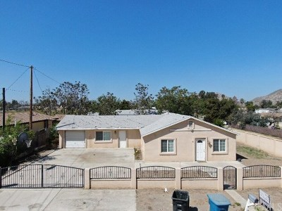 Nuevo/lakeview Single Family Home For Sale: 19861 Magnolia Avenue